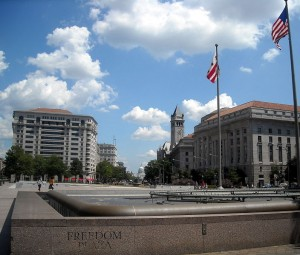Freedom Plaza - Washington DC - 14th and Pennsylvania Avenue NW - 