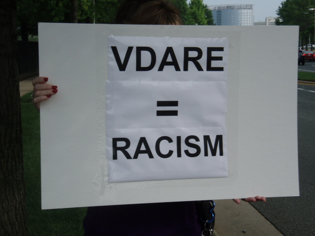 "R.E.A.L. challenges VDARE's support for white separatism and ""white nationalism"" as racist"