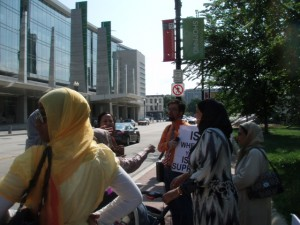 July 4 - DC - Some ISNA Conference Members Don't Like R.E.A.L.'s Challenge to Islamic Supremacism and Defense of Universal Human Rights
