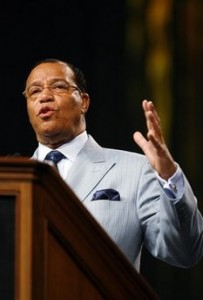 Nation of Islam Hate Group Leader Louis Farrakhan speaks in Memphis on Taliban and other topics (AP Photo/Lance Murphey)