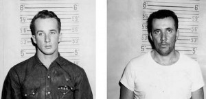 This pair of 1964 Mississippi State Highway Patrol photos shows James Ford Seale (left) and Charles Marcus Edwards (AP Photo/David Ridgen)