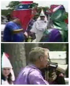 "Ku Klux Klan's Triumphant Rally After ""Greensboro Massacre"""