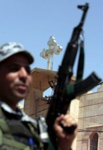 "Previous Attacks on churches ""carry the hallmarks of Al-Qaeda"" said an Iraqi general (AFP"
