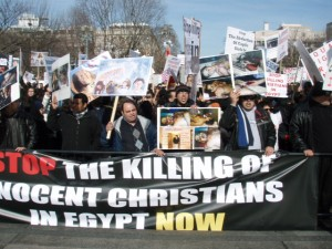 "Copts Called for ""Stop the Killing of Innocent Christians Now"""