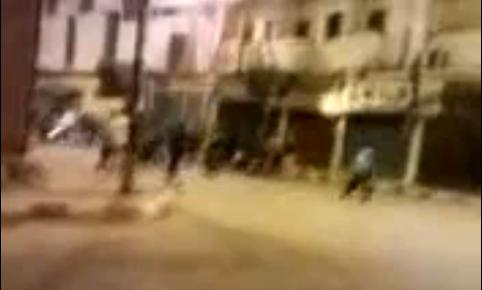 Still from YouTube Video after January 6 Attack Outside Coptic Christian Church