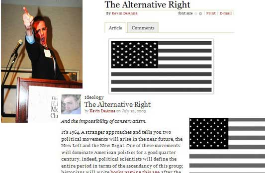 Alternative Right's Kevin DeAnna's View of America - One that is Only White and Black