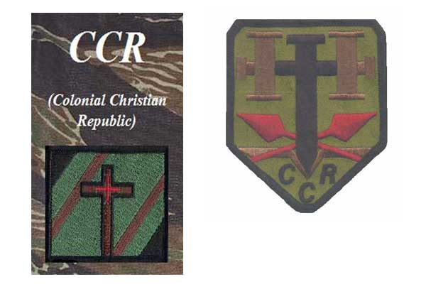 Hutaree Promotes Colonial Christian Republic (CCR) on Website and Uniform