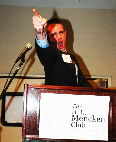 Youth for Western Civilization's (YWC) Kevin DeAnna at H.L. Mencken Club in Conference with Pat Buchanan, Steve Sailer, Richard Spencer