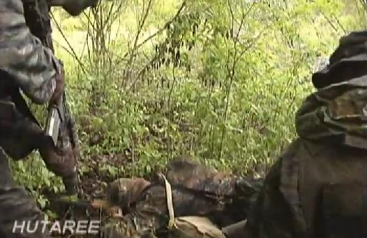 Hutaree Video Clip Shows Simulation of Hutaree Making Certain Soldier is Dead After Booby Trap Bombing