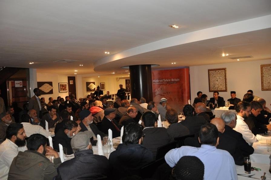 May 9, 2010: Anti-Democracy Hizb ut-Tahrir Britain Group Hold London Event Condemning Pakistan Government's Relationship with United States