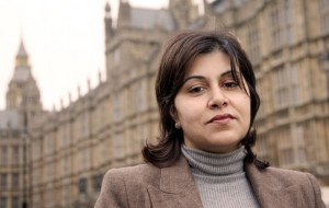 Minister of Parliament Sayeeda Warsi (Photograph: Rex Features)