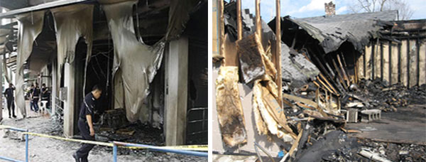 Church Burned Down in Malyasia, Mosque Burned Down in United States