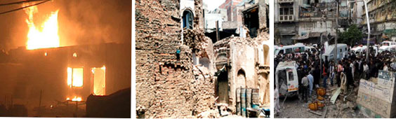 Pakistan: Mob Attack on Christian Churches and Homes, Destruction of Hindu Temple (Dawn), Bombing Attack on Muslim Shiites (Dawn)