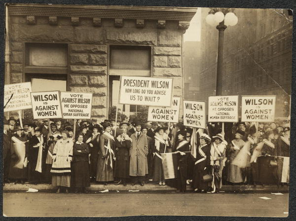 Remember Women's Struggle for the Vote: Suffering Suffragettes