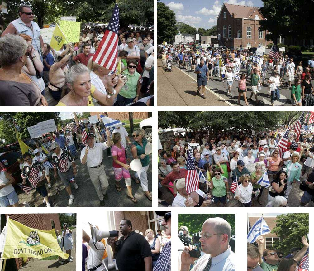 Murfreesboro, Tennessee: Photos from July 14 Anti-Mosque March (Photos: DNJ, except for Photo 7, ABP)