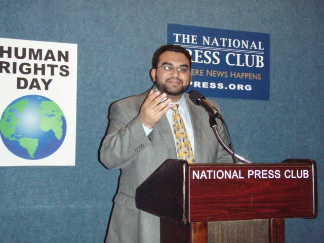 Husain Abdulla Speaks on Bahrain Democracy and Human Rights