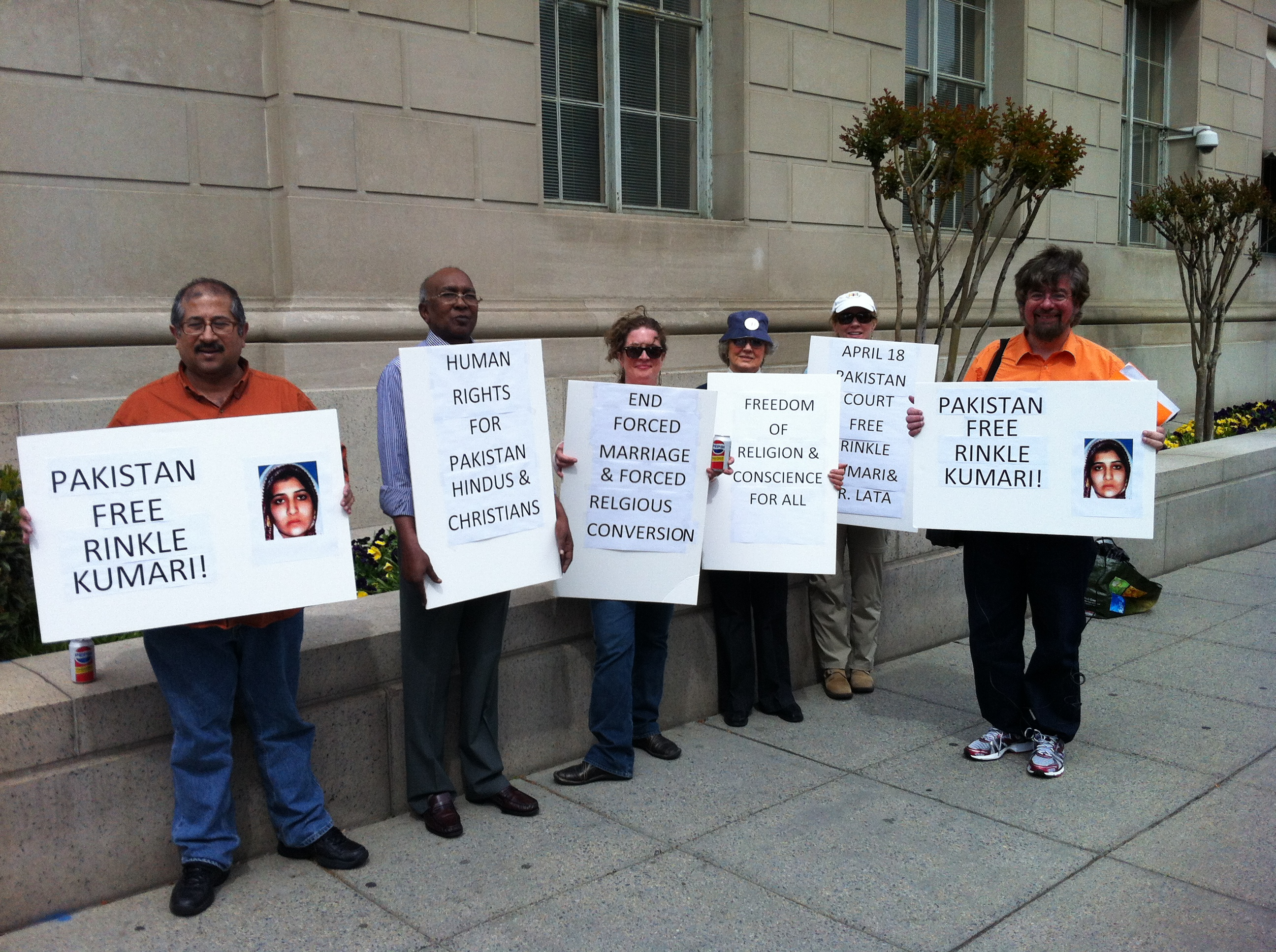 DC: Activists Support Rights for Pakistan Hindus, Christians, and Religious Minorities