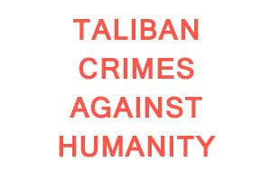 R.E.A.L. Rejects Taliban's Crimes Against Humanity, Calls for ICC to Act