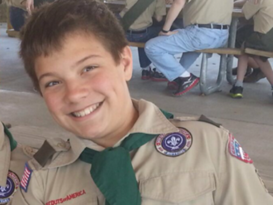 Christian and Boy Scout Reat Griffin Underwood  Murdered in Nazi Terror Attack in United States in 2014