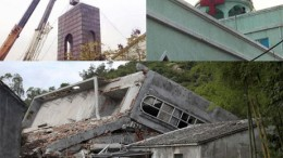 China-Crosses-Buildings-Destroyed