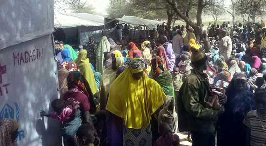 Nigerians Flee Country from Boko Haram Terrorism  (Source: UNCHR, Chad Red Cross, H. Abdoulaye)