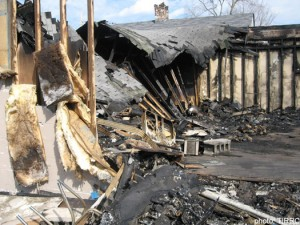 Nazi Arson Attack on Tennessee Mosque - Burning it to the Ground
