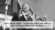 Dr. Martin Luther King, Jr. Speaking to Audience (Source: Charlotte News-Observer Video Screenshot)