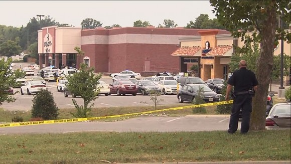 Scene of Theater Attack in Antioch, TN (Source: WKRN)
