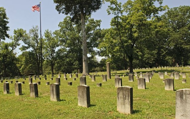 American Patriot Union Soldiers Gave Their Lives to Fight White Supremacy Slavery (Shiloh Cemetery)