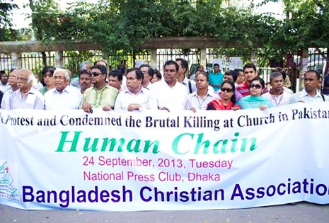 Bangladesh Christian Association (BCA) - has sought security and universal human rights for Christians and other religious minorities in Bangladesh (Source UCA News)