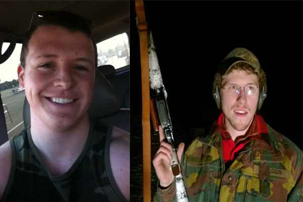 """Allen Lawrence """"Lance"""" Scarsella (LEFT) and Nathan Gustavsson (RIGHT) arrested in connection with Minneapolis Terrorist Attack (Source: Raw Story, Facebook)"""