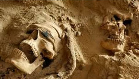 Remains of ISIS Terrorist Movement Mass Grave