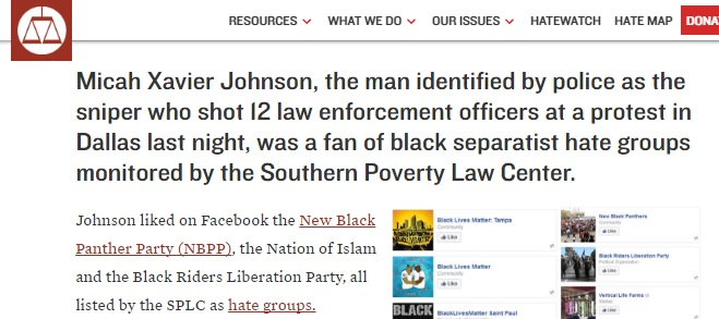 Earlier In The Same Day July 7 2016 As The Dallas Terrorist Attack That Night By Micah Johnson Noi Leader Louis Farrakhan Re Posted A Video Of A July